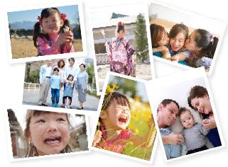 家族が写るたくさんの写真を使いたい人のおすすめ